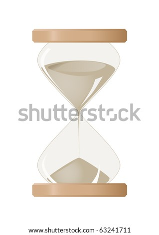 Vector image of some hourglass