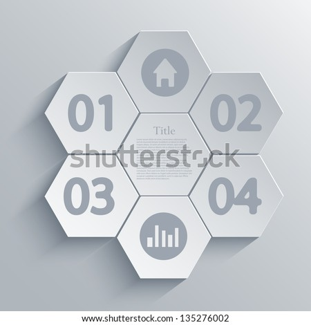 Vector infographic design element. Eps10 - stock vector