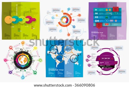 Vector infographic elements - stock vector