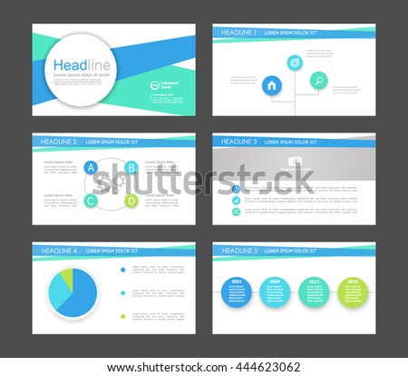 Vector infographic elements for presentation templates. Leaflet, Annual report, book cover design. Brochure, layout, Flyer layout template design. Easy to edit. - stock vector