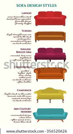 Tuxedo back stock images royalty free images vectors for Types of couches names