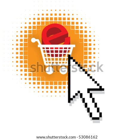 Internet shopping Stock Photos, Illustrations, and Vector Art