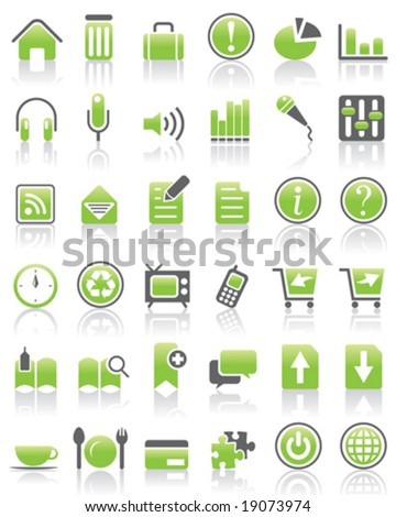 VECTOR Internet / Web Icon set