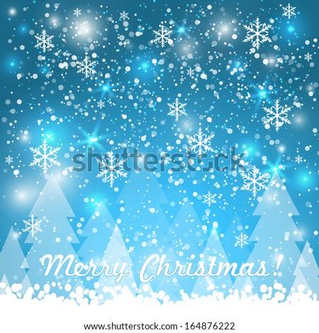 Vector invitation card snowflakes happy new stock vector 164876222 vector invitation card with snowflakes happy new year merry christmas invitation card nice stopboris Choice Image