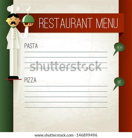 Italian Menu Banco de imagens imagens e vetores livres de – Italian Menu