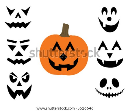 Vector jack-o-lantern illustration