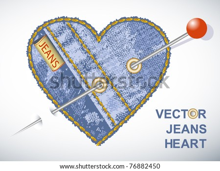 Vector jeans symbols See similar in my portfolio - stock vector