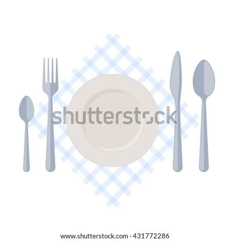 Restaurant Kitchenware kitchen steel utensils kitchenware set female stock vector