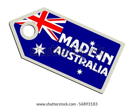 Australian Made Vector Vector Label Made in Australia