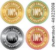 vector labels for best choice - stock vector