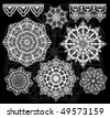 Vector lace - stock vector