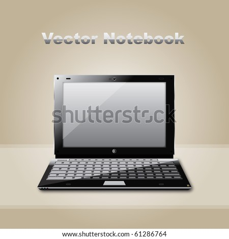 Vector laptop