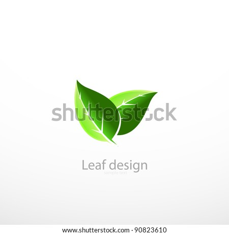 Vector leaves concept - stock vector