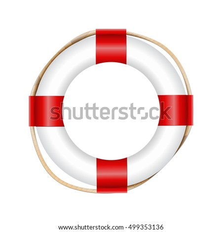 Vector Lifebelt, Lifebuoy Icon