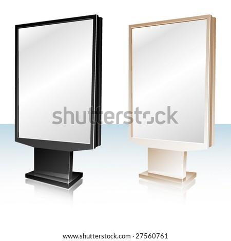Vector light box - stock vector