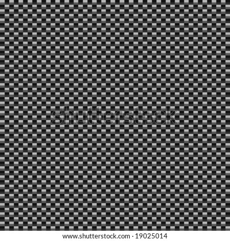 vector light carbon fiber style background, will tile seamlessly as a pattern - stock vector