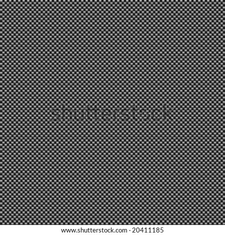 vector light carbon fibre style background, will tile seamlessly as a pattern and includes pattern swatch - stock vector