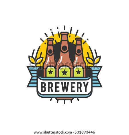 Stock photos royalty free images vectors shutterstock for Craft beer logo design