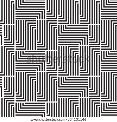 Vector linear pattern. Repeating geometric linear grid design