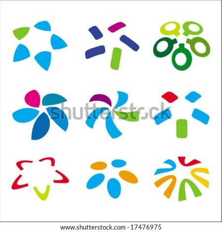 vector logo & design elements - stock vector