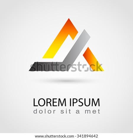 Vector logo design template.  - stock vector