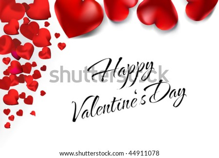 vector love card