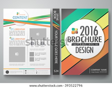 Vector magazine,modern flyers brochure,cove,annual report,design templates,layout,portfolio,colorful abstract line and gray background in a4 size,To adapt for business poster,presentation,illustration