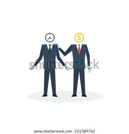 vector manager trainee - stock vector