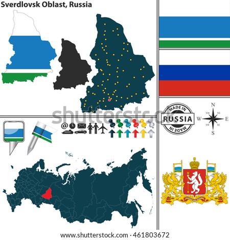Map Russian Coat Of 115