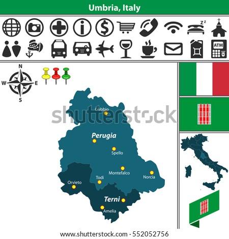 Terni Map Stock Images RoyaltyFree Images Vectors Shutterstock