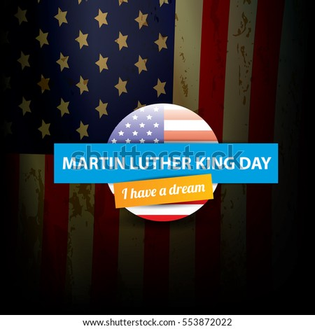 Vector Martin Luther King Jr Day Stock Vector 553872022 Shutterstock