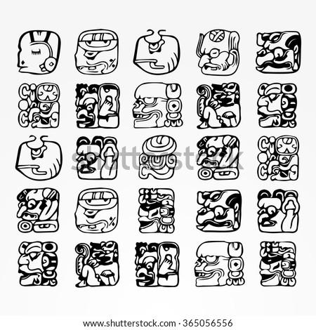 mayan art stock images royaltyfree images amp vectors