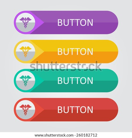 Vector medical sign. File format eps 10 - stock vector