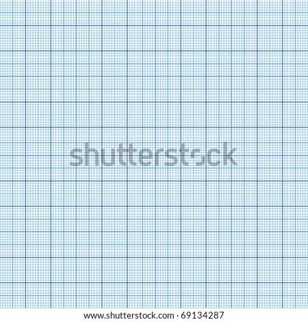 Vector millimeter paper - stock vector