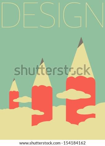 Vector Minimal Design - Design  - stock vector
