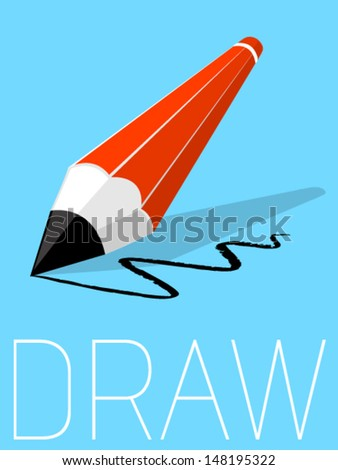 Vector Minimal Design - Draw  - stock vector