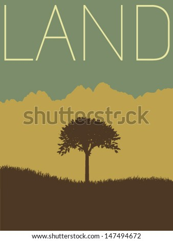 Vector Minimal Design - Land