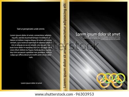 Vector Modern abstract Cover design - stock vector