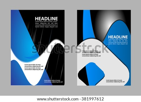 vector modern corporate concept illustration