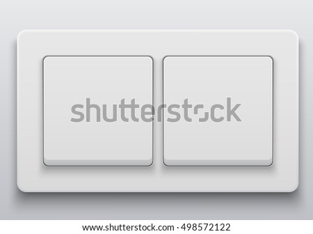 Vector Modern Light Switch Icon On Background
