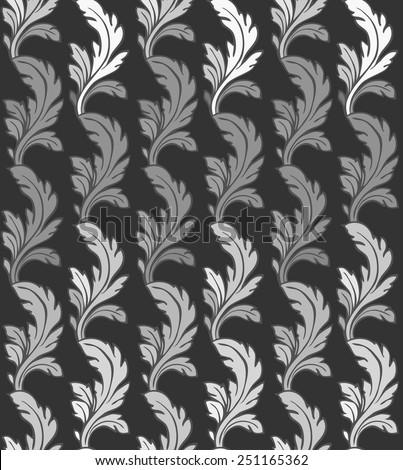 Vector Modern Ornament Seamless Pattern - stock vector