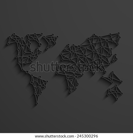vector modern social network background template. Eps10 - stock vector