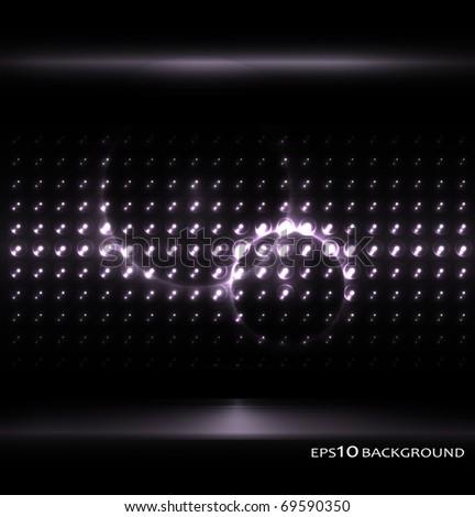 Vector monochrome background - stock vector
