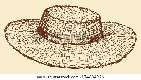 Straw Hat Stock Images Royalty Free Images Amp Vectors