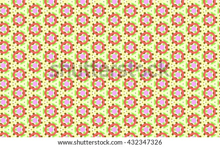vector multicolor geometric abstract pattern - stock vector