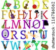 Vector Music Alphabet Set - More in Portfolio - stock vector