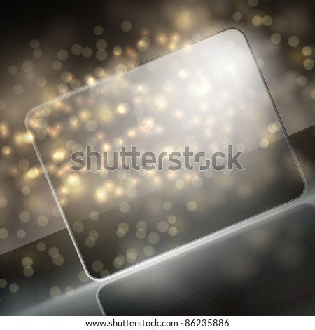 vector new year beautiful design - stock vector