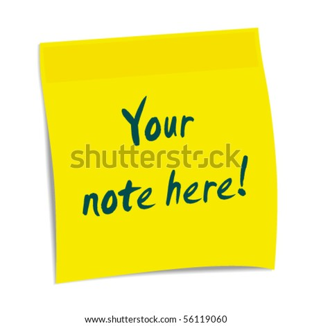 Vector notepaper with place for your text