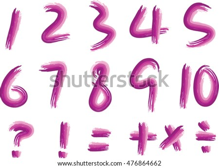 vector numbers set
