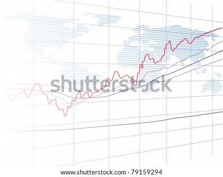 Vector of graph background